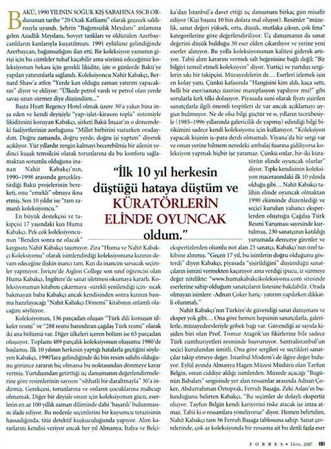 Forbes - Ekim 2007