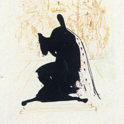 Salvador Dali, Print, 45x33 cm.