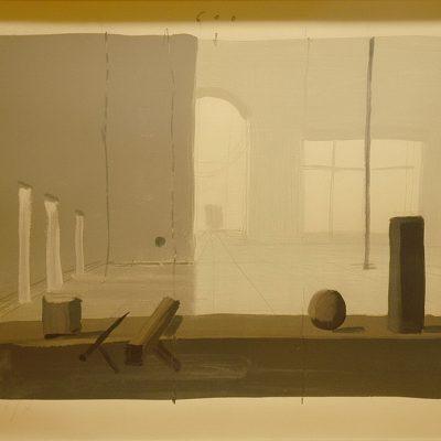 Ben Willikens, 2004, Baskı, 69x100 cm.