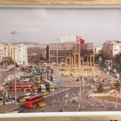 Işıl Eğrikavuk, Change Will Be Terrific! Taksim- Palmyra (Triptik), 2012, Digital print, edition 3; 1AP, 50x32 cm.