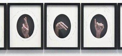 Fumai Chiara, W.A.R.N.I.N.G, 2016, Karışık Teknik, c-print, kağıt/mürekkep, edisyon 1/3+ap, 30x40cm (7 adet'ten her biri)