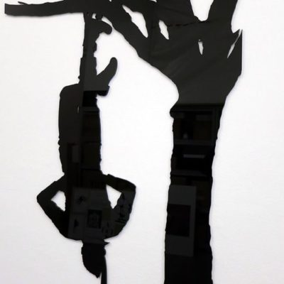 Ergin Çavuşoğlu, XII Le Pendu (The Hanged Man), 2013, Perspex, 91x60x0,5cm, Rölyef