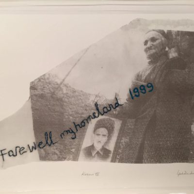İpek Duben, Kosovar VII,2010, Screenprint 16/35, 70x50 cm.