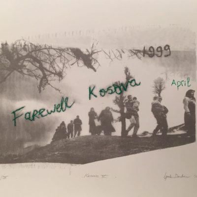 İpek Duben, Kosova V, 2010, Serigrafi baskı 16/35, 70x50 cm.
