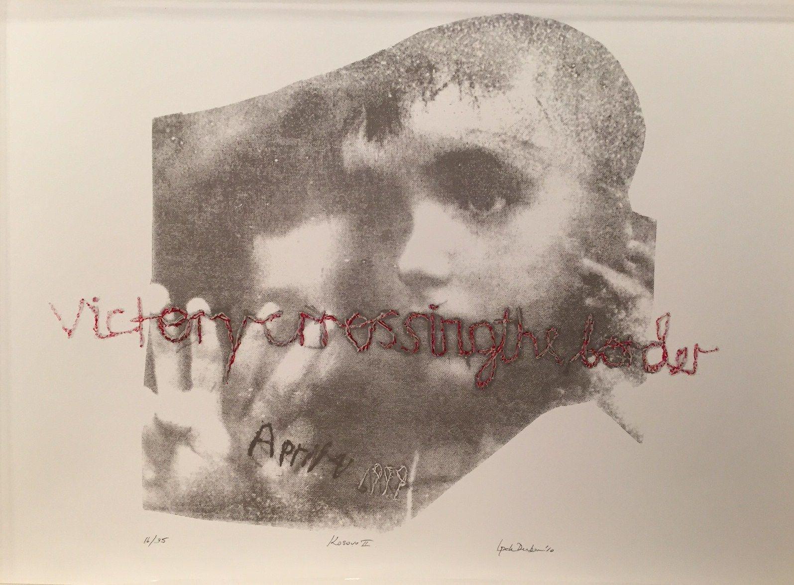 İpek Duben, Kosovar II, 2010, Screenprint 16/35, 70x50 cm.