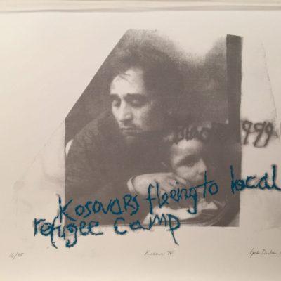 İpek Duben, Kosova IV, 2010, Serigrafi baskı, 16/35, 70x50 cm.