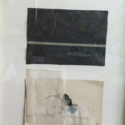 Maya Sumbadze, Untitled, 2014, Mixed media, 69x49 cm.