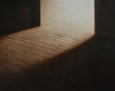 Elif Özen, Untitled, 2016, Mixed media on paper (sheet-fed ink, shellac, oil paint), 49x76 cm.
