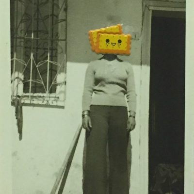 Volkan Aslan, My Revered Elders, 2017, Photo collage (unique), 30 x 24 cm.