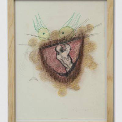 Maia Naveriani, House of Forward Thinking, 2013-2014, Kağıt üzerine suluboya ve renkli kalemler, 36x28,5 cm.