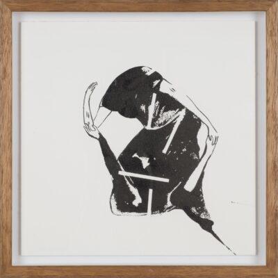 İnci Eviner, 2019, Ink on paper, 30x30 cm.