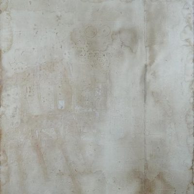 Devabil Kara, White shadow, 2008, Acrylic on canvas, 160x140 cm.