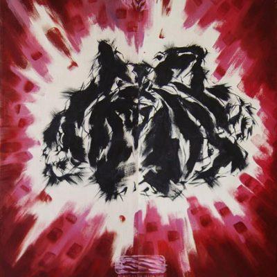 İsa Abdülkerim, 2001, Tuval üzerine yağlıboya, 150x120 cm.