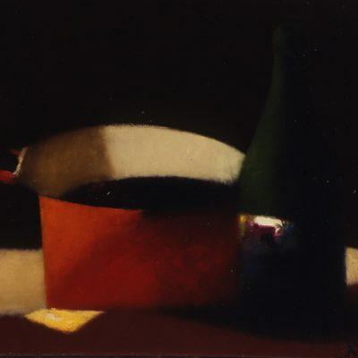 Tebriz Abdullayev, Tuval üzerine yağlıboya, 65x80 cm.