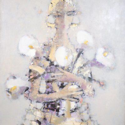 Tebriz Abdullayev, 1999, Oil on canvas, 90x80 cm.