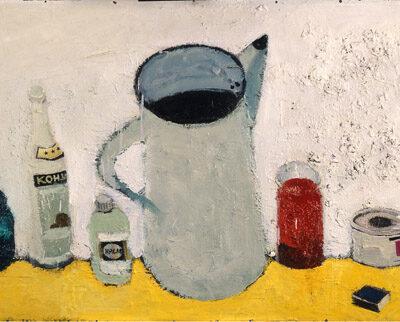 Tebriz Abdullayev, 1988, Oil on canvas, 52x90 cm.