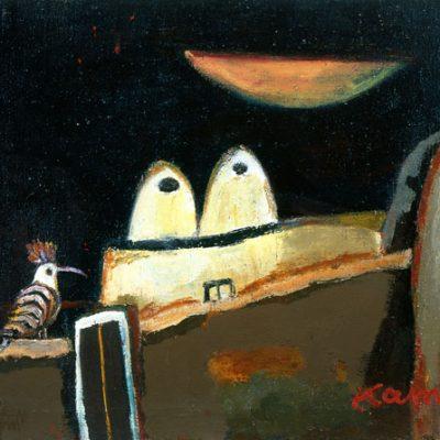 Kemal Ahmedov, Oil on canvas, 60x75 cm.