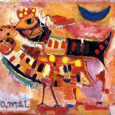 Kemal Ahmedov, 1991, Oil on canvas, 80x100 cm.