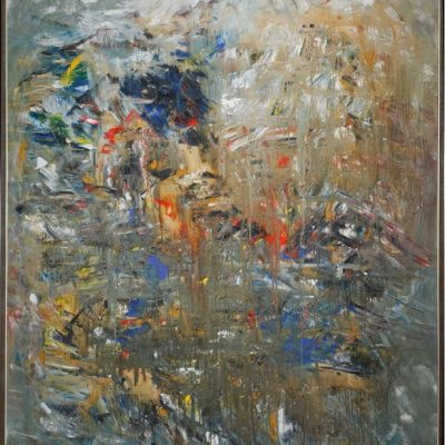 Zeki Arslan, Untitled, 1990, Oil on canvas, 180x155 cm.