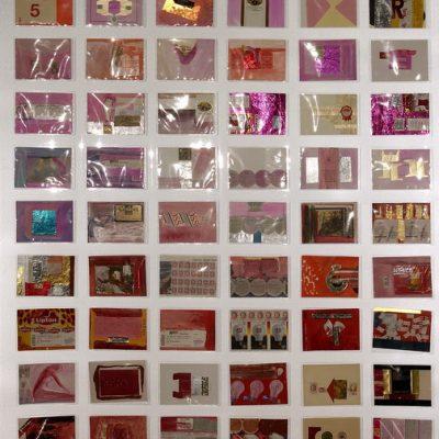 Tomur Atagök, Diaries, 1995-2000, Mixed media, 175,5 x 126,5 cm.