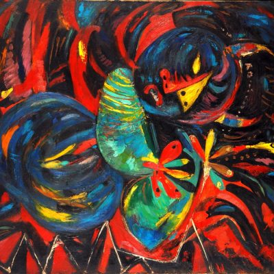 Rasim Babayev, Recumbent, 1990, Oil on canvas, 89x120 cm.
