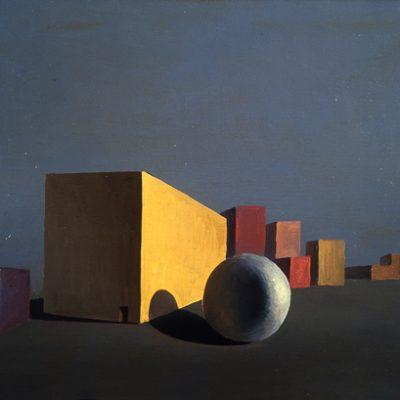 Bahteyeva, 2001, Tuval üzerine yağlıboya, 60x80 cm.