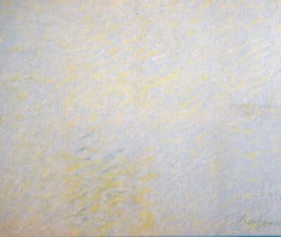 Muhamed Bajramovic, 1995, Aquarelle on cloth, 129x155 cm.
