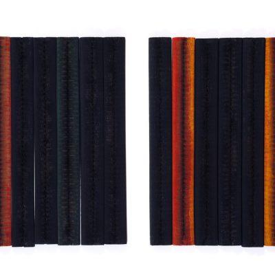 Muhamed Bajramovic, 2003, Mixed media, 70x102 cm.