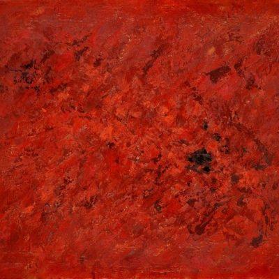 Ferruh Başağa, 1960, Oil on canvas, 90x116 cm.