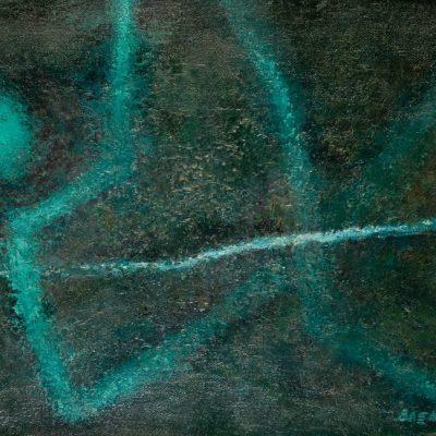 Ferruh Başağa, 1974, Oil on canvas, 69x100 cm.