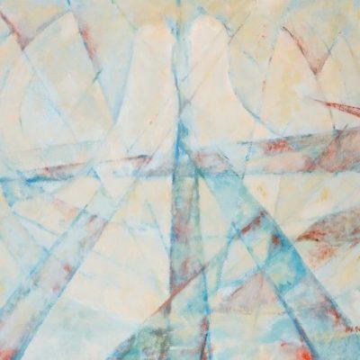 Ferruh Başağa, 1959, Oil on canvas, 65x81 cm.