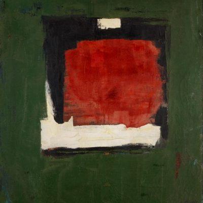 Ferruh Başağa, 1976, Oil on canvas, 81x65 cm.