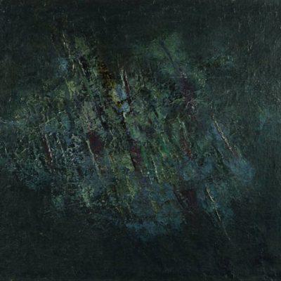 Ferruh Başağa, 1958, Oil on canvas, 90x110 cm.