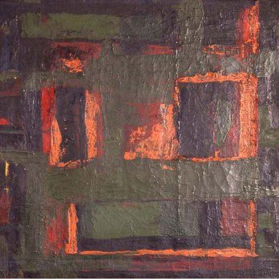Ferruh Başağa, Oil on canvas, 50x60 cm.