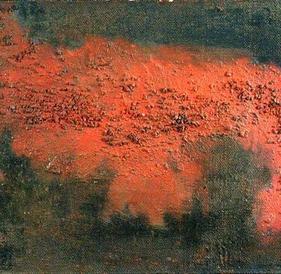 Ferruh Başağa, 1954, Oil on canvas, 50x70 cm.
