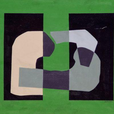 Sabri Berkel, 1954,Oil on hardboard, 38x48 cm.