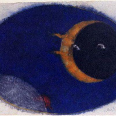 Mark Brusse, 1999, Kağıt üzerine pastel, 62x95 cm.