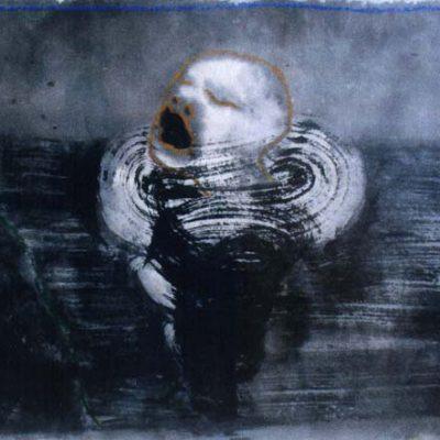 Mark Brusse, 1998, Kağıt üzerine pastel, 62x95 cm.