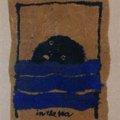 Mark Brusse, 2003, Kağıt üzerine pastel, 27x21 cm.