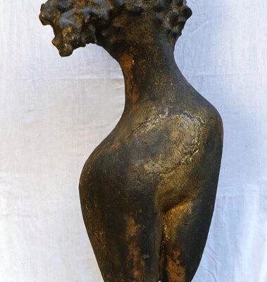 Ünal Cimit, Terracotta, 95x44 cm.