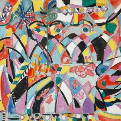 Nejad Melih Devrim, Oil on canvas, 46x55 cm.