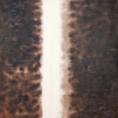 Abidin Dino, Antibes, 1954-1961, Oil on canvas, 64x54 cm.