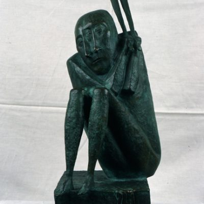Dronov, Bronze, 50x20x20 cm.