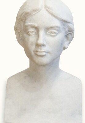 Ömer Eldarov, Huma Kabakcı, Marble, 53x32x30 cm.