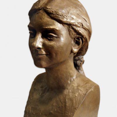 Ömer Eldarov, Huma Kabakcı, Bronze, 53x30x30 cm.