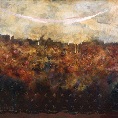 Elyar Elimirzayev, Oil on canvas, 80x100 cm.