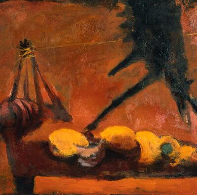 Elyar Elimirzayev, Oil on canvas, 100x137 cm.
