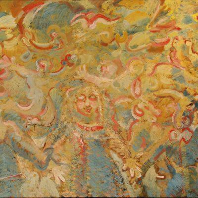 Müseyib Amirov, 1996, Oil on canvas, 140x190 cm.