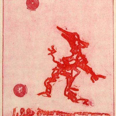 Max Ernst, Print, 47x35 cm.