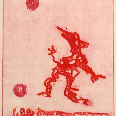 Max Ernst, Baskı, 47x35 cm.